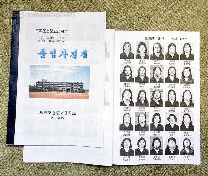 東京朝鮮中高級学校・卒業写真