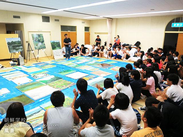 淡路島合宿での合評会