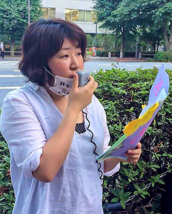 在日本朝鮮人権協会 性差別撤廃部会会長・ 李全美さん