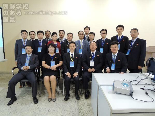 朝鮮大学校理工学部助教 李成基さん