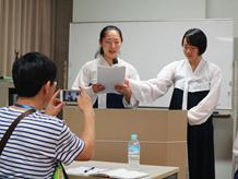 在日朝鮮学校差別反対12次訪問団